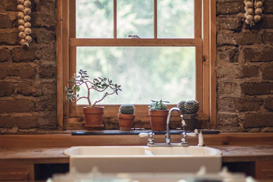 Кухонный садик в квартире