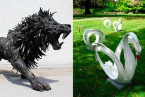 Старые шины в саду - креативные идеи