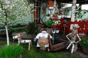 Как разместить дом, баню, сад, огород и зону отдыха на маленьком участке